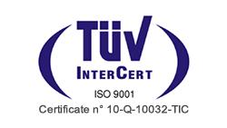 logo certificato di qualità