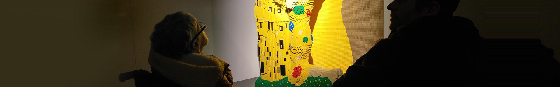 In giro per la città - mostra lego
