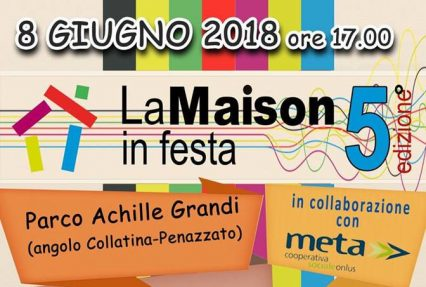 """Accademia in festa con """"La Maison"""""""