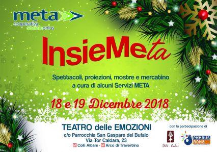 InsieMeta - evento al Teatro delle Emozioni