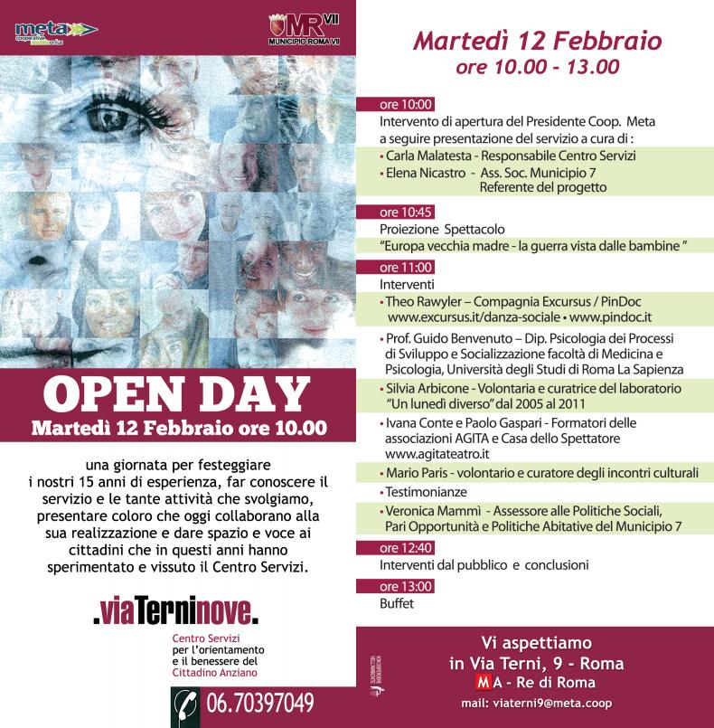 open day 2019 ViaTerninove